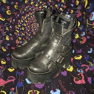 Used Dollskill platform boots
